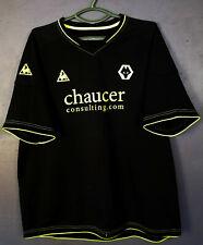 FC WOLVERHAMPTON WANDERERS 2008/2009 AWAY SOCCER FOOTBALL SHIRT JERSEY SIZE XL