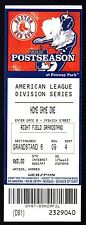 2013 American League Championship Series Game 1 Full Ticket Red Sox Vs Tigers