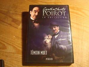 DVD : Hercule Poirot - N°10 - Temoin Muet // Agatha Christie