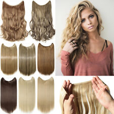 Hair Secret Headband Wire/Line As Human Hair Extensions Invisible One Piece FO3