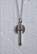 Large Battle Axe Necklace Gay Pride Rainbow Lesbian Symbol