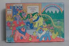 My Little Pony Vintage Dance N Prance Ponies 100 Piece Puzzle 1989