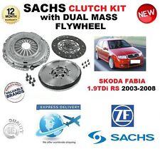 FOR SKODA FABIA 6Y2 1.9TDi RS CLUTCH KIT 130BHP 2003-2008 with FLYWHEEL & BOLTS