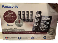 Panasonic link2cell bluetooth Cordless Telephone With Digital Answering Machine