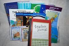 Lot Of 14 Home School Book Set K12.Com Science Language History USA Map Globe