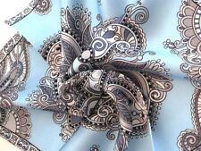 """New 14"""" Satin 100% Silk Pocket Square Men's Handkerchief  Light  Blue Designer"""