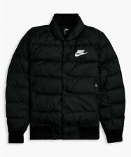 Mens Nike Sportswear NSW Down Fill Bomber Jacket 928819-010 Black New Size L