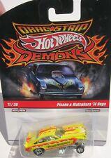 Hot Wheels Drag Strip Demons Pisano & Matsubara 74 Vega Funny Car # 11 of 30