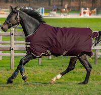 "Horseware Amigo HERO 600d Ripstop TURNOUT Rug Lightweight 100g Fig 5'6""-7'0"""