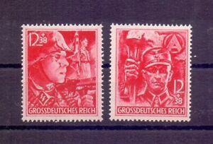 Deutsches Reich 1945 - Die beiden letzten Marken 909/910 - Michel 80,00 € (134)