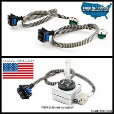 NEW! Xenon Ballast to D1S D1R HID Light Bulb WIRE CABLE CORD PLUG HOOK UP WIRING