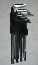 9 tlg Torx Inbus Winkel Drehersatz 2.5mm-10mm T10-T50