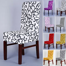 Removable Stretch Cover Slipcover Dining Party Decor Spandex Chair Seat Cover TP