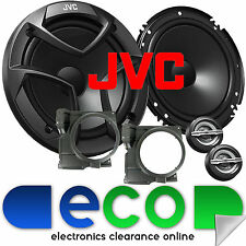 VW Polo 6N2 MK3 99-03 JVC 16cm 600 Watts 2 Way Front Door Car Component Speakers