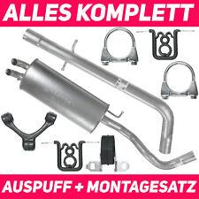 Imasaf Auspuffset Mitteltopf+Endtopf für Audi 80+Coupe 1.8+2.2 GT+2.3 1983-1988