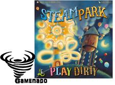 Steam Park Play Dirty expansion Family Boardgame