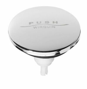Wirquin SP9261S Quick-Clac Stainless Steel Sink Stopper - Diameter 6.5 cm