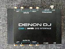 Denon DS1 DJ Serato DVS Interface with official control CD's & Vinyl