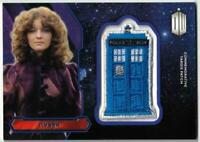 Doctor Who Nyssa Tardis Patch Card.  Topps Dr Who 2015