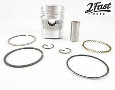 Honda 50cc Z50A Piston & Rings Kit Std Size Domed Pin Clips Z50 Z 50 2FastMoto