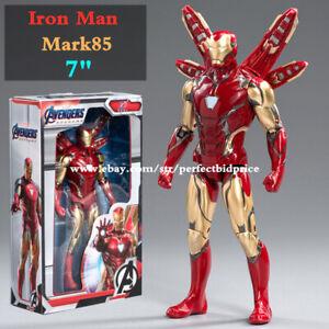 "New Iron Man Mark85 Marvel Avengers Legends Comic Heroes Action Figure 7"" Toys"