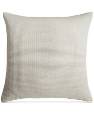 Nip Hotel Collection Plume Euro Size Pillow Sham In White, Nubby Texture