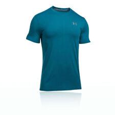 Abbiglimento sportivo da uomo traspirante blu Under armour