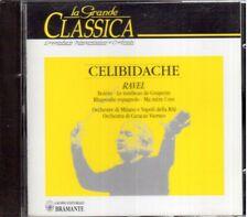 Ravel: Bolero, Rapsodia Spagnola, Le Tombeau De Couperin / Sergiu Celibidache CD