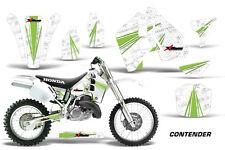 Honda CR500 CR 500 Graphics Kit Dirt Bike Wrap MX Stickers Decals 89-01 CONT GRN