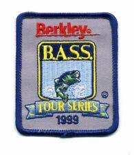 Set Of Two B.A.S.S. Bass Fishing Patches For Your Jacket Or Shirt
