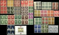AUSTRIA Stamps Postage Collection Semi Postal Blocks MINT NH LH