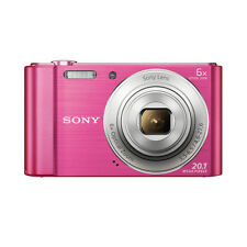 Sony DSC-W810 20.1 Megapixels Digital Camera+16GB card+carry case (Pink)