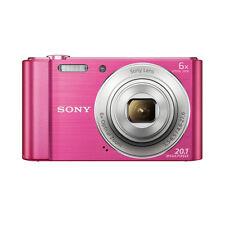 Sony DSC-W810 20.1 Megapixels Digital Camera+16GB card+carry case (Pink)