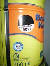 Brantho Korrux 3in1 Rostschutz 750ml RAL 9011 graphitschwarz Metallschutzfarbe