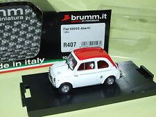 FIAT 595 SS ABARTH 1964 BRUMM R407