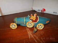 VINTAGE ORIGINAL TIN LITHO OLD BUGATTI TYPE TOYS  MADE IN JAPAN FRICTION