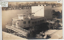 Rppc - Seattle - University of Washington - Showboat Theatre - 1930s