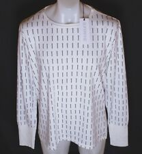 BNWT MEN'S SUPERFINE LONG SLEEVED NAILS T SHIRT XLARGE NEW RRP£90 WHITE
