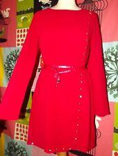 101 IDEES ROBE DRESS TRENDY PAN POINçONS CEINTUREE TL OU 38/42