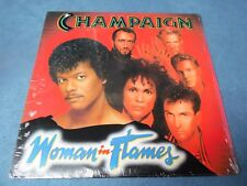 Champaign - Woman In Flames / Columbia Records Printed USA 1984 Soul Funk LP