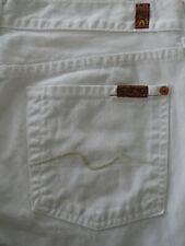 SEVEN 7 for all mankind ® Jeans, Bootcut I weiß I Größe 30