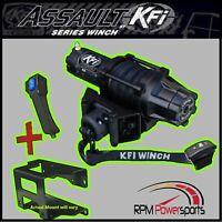 KFI 4500 lb. STEALTH Winch Mount Kit 2012-2020 KAWASAKI 750 Teryx 4 / 800 Teryx