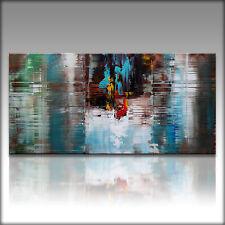 Vnartist / ORIGINAL 120cm x 60cm Abstrakt Gemälde Modern XXL Bilder 9499