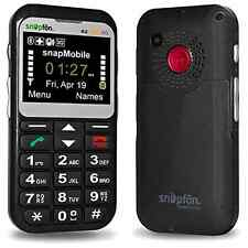Snapfon ezTWO Big Mobile Senior Cell Phone Gsm Unlocked Elder SOS Button Elderly