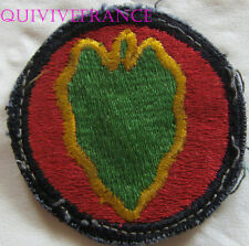 dIN112 - WWII US Army 24TH INFANTRY DIVISION Patch
