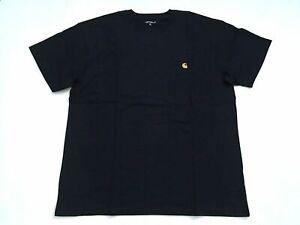 Carhartt Wip Chase T-Shirt S/S XL Dark Navy Jeans Casual Urban Streetwear