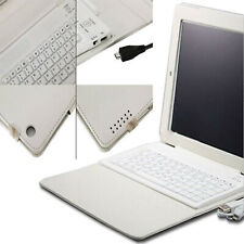 For Apple iPad Air 5th Gen Keyboard Wireless Leather Case Cover white