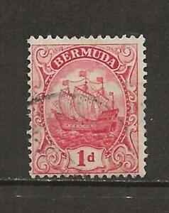 BERMUDA SAILING SHIP USED SINGLE - SCOTT 42  - a26