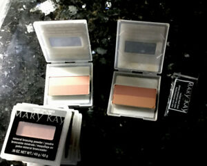 MARY KAY BRONZING POWDER~SANDSTONE LOT OF 2, BRONZE DIVA LOT OF 1.