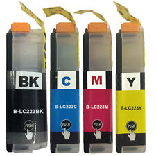 4 Ink Cartridge For MFC-J5320DW J5620DW J5625DW J5720DW Replace Brother LC223